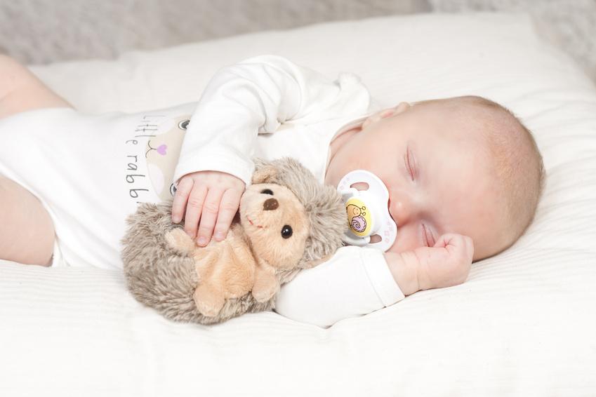 Beautiful baby sleeping