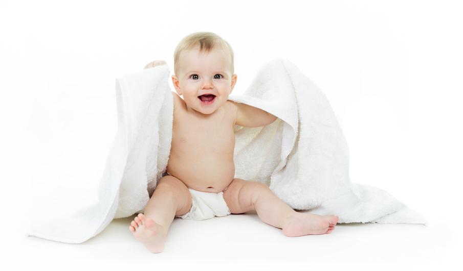 Towel baby