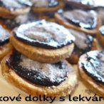 Makové koláčiky so slivkovým džemom